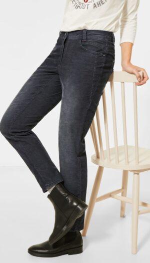 Corduroy Trousers in Grey - The Purple Orange