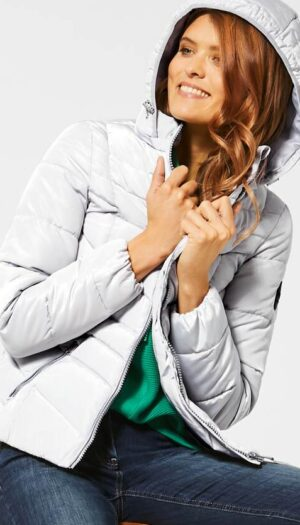 White Quilted Jacket - The Purple Orange