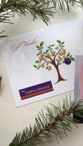 The Purple Orange Vouchers - €50, €100 value