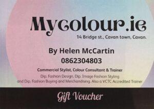 MyColour Analysis Vouchers - €60, €90 value