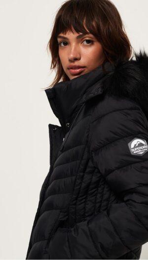 Superdry Fuji Slim in Black (3 in 1 Jacket) - The Purple Orange