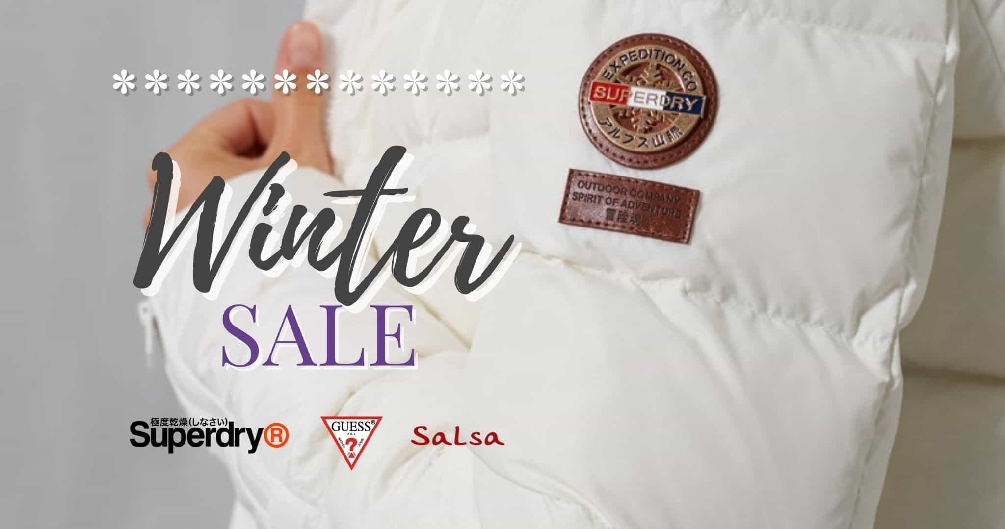 Winter Sale 2020 - Superdry, Guess Salsa Jeans annd more! - The Purple Orange